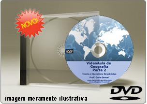 Videoaula de Geografia – Parte 2 – DVD