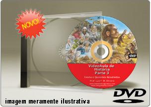 Videoaula de História do Brasil Parte 3 – DVD