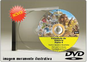 Videoaula de História do Brasil Parte 4 – DVD
