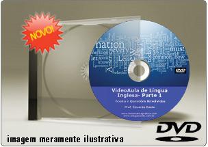 Videoaula de Inglês Parte 1 – DVD