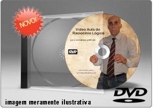 Videoaula Raciocínio Lógico Parte 1 – DVD