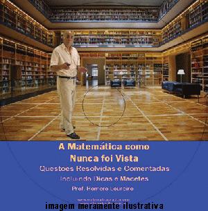 Videoaula Matemática como Nunca foi Vista – DVD