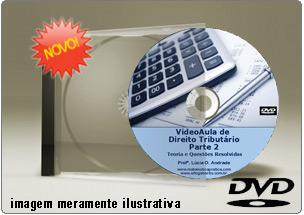 Videoaula de Direito Tributário Parte 2 – DVD