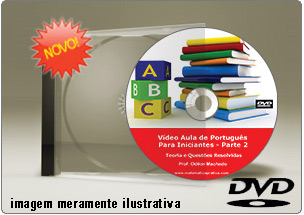 Videoaula de Português para Iniciantes Parte 2 – DVD