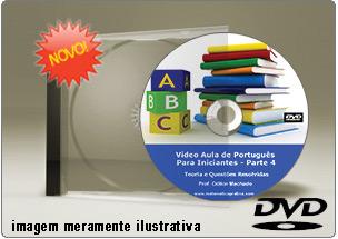 Videoaula de Português para Iniciantes Parte 4 – DVD