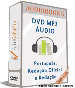 Audiobooks Aulas de Português Nível Médio – MP3 DVD