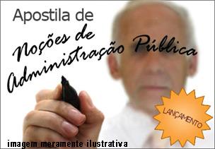 Apostila PDF Noções de Administração Pública – Download