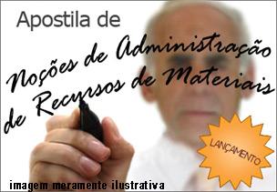 Apostila PDF Noções de Administração de Recursos Materiais – Download