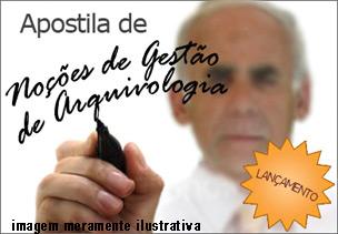 Apostila PDF Noções de Gestão de Arquivologia – Download
