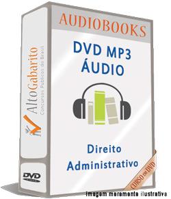 Audiobooks Aulas de Direito Administrativo – MP3 DVD