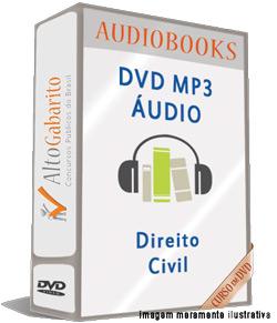 Audiobooks Aulas de Direito Civil – MP3 DVD