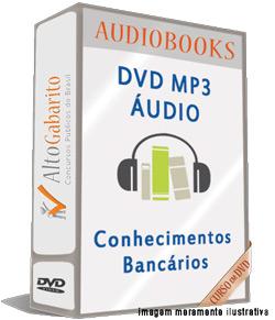 Audiobooks Aulas de Conhecimentos Bancários – MP3 DVD