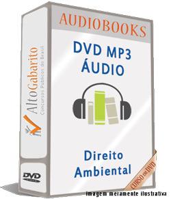 Audiobooks Aulas de Direito Ambiental – MP3 DVD
