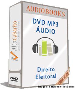 Audiobooks Aulas de Direito Eleitoral – MP3 DVD