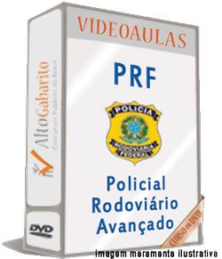 Curso Avançado Concurso PRF – Policial Rodoviário – Videoaulas DVDs