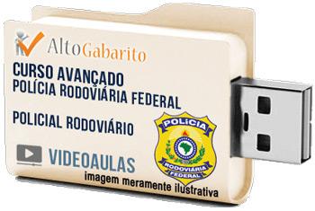 Curso Avançado Concurso PRF – Policial Rodoviário – Videoaulas Pendrive