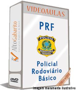Curso Básico Concurso PRF – Policial Rodoviário – Videoaulas DVDs