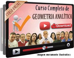 Curso Completo Geometria Analítica – Videoaulas Download