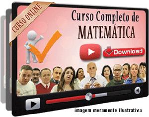 Curso Completo Matemática – Videoaulas Download