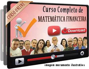 Curso Completo Matemática Financeira – Videoaulas Download