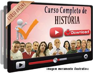 Curso Completo História Videoaulas – Download