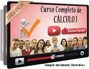Curso Completo Cálculo I – Videoaulas Download