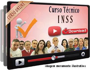 Curso Concurso INSS – Técnico Seguro Social – Videoaulas Download