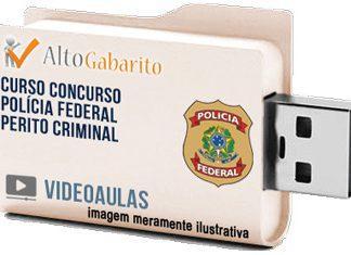 Curso Concurso Polícia Federal – Perito Criminal – Videoaulas Pendrive