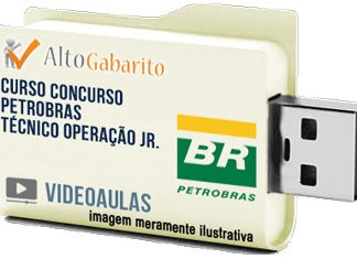 Curso Concurso Petrobras – Técnico Operação Jr – Videoaulas Pendrive