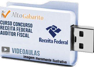 Curso Concurso Receita Federal – Auditor Fiscal – Videoaulas Pendrive
