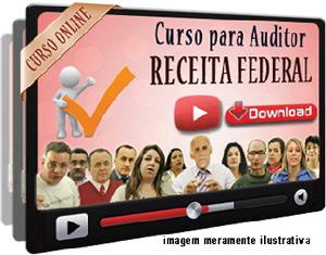 Curso Concurso Receita Federal – Auditor Fiscal – Videoaulas Download