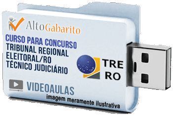 Curso Concurso Tribunal Regional Eleitoral – RO – Técnico Judiciário – Videoaulas Pendrive