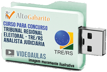 Curso Concurso Tribunal Regional Eleitoral – RS – Analista Judiciário – Videoaulas Pendrive