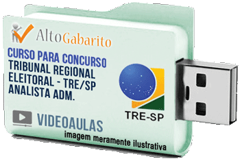 Curso Concurso Tribunal Regional Eleitoral – SP – Analista Administrativo – Videoaulas Pendrive