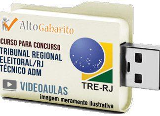 Curso Concurso Tribunal Regional Eleitoral – RJ – Técnico Administrativo – Videoaulas Pendrive