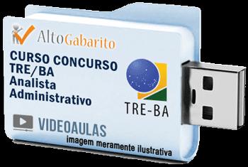 Curso Concurso Tribunal Regional Eleitoral – BA – Analista Administrativo – Videoaulas Pendrive