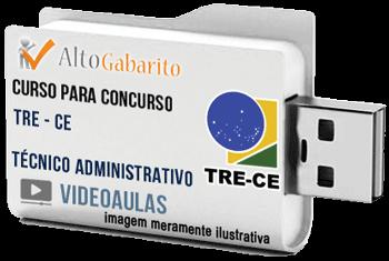 Curso Concurso Tribunal Regional Eleitoral – CE – Técnico Administrativo – Videoaulas Pendrive