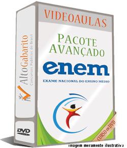 Curso Exame Nacional Ensino Médio – ENEM – Avançado – Videoaulas DVDs