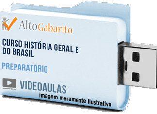 Curso Completo de História Geral e Brasil – Videoaulas Pendrive