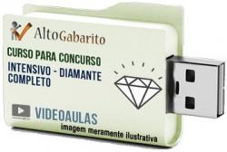 Curso Intensivo Alto Gabarito Diamante – Videoaulas Pendrive