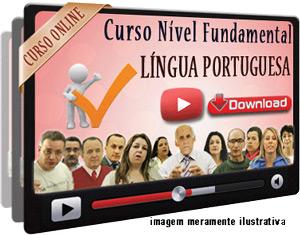 Curso Completo Português Nível Fundamental – Videoaulas Download