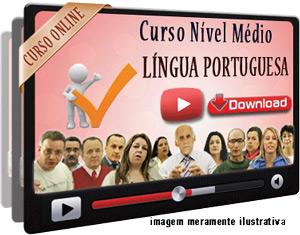 Curso Completo Português Nível Médio – Videoaulas Download