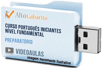 Curso de Português para Iniciantes Nível Fundamental – Videoaulas Pendrive