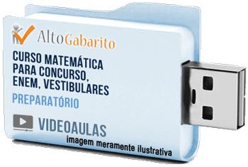 Curso Básico de Matemática – Videoaulas Pendrive