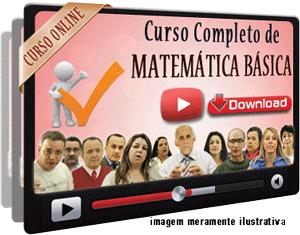Curso Completo Matemática Básica Nível Médio – Videoaulas Download
