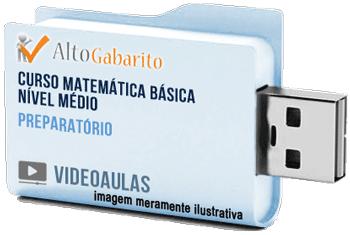 Curso de Matemática Básica Nível Médio – Videoaulas Pendrive