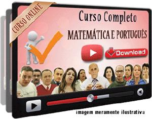 Cursos COMPLETOS Matemática e Português – Videoaulas Download