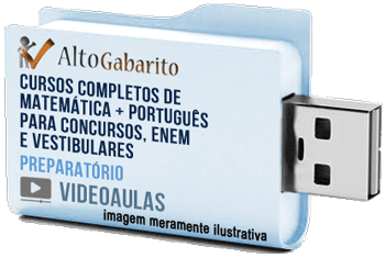 Curso Completo de Matemática e Português – Videoaulas Pendrive