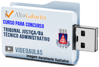 Curso Concurso Tribunal Justiça – BA – Técnico Administrativo – Videoaulas Pendrive