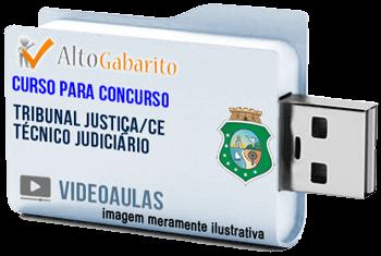 Curso Concurso Tribunal Justiça – CE – Técnico Judiciário – Videoaulas Pendrive